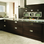 Tavola Oak Stained Black Brown Ferrara